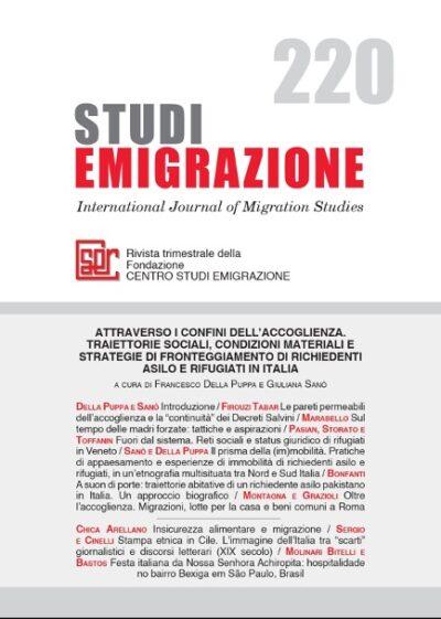 ATTRAVERSO I CONFINI DELL'ACCOGLIENZA. TRAIETTORIE SOCIALI, CONDIZIONI MATERIALI E STRATEGIE DI FRONTEGGIAMENTO DI RICHIEDENTI ASILO E RIFUGIATI IN ITALIA