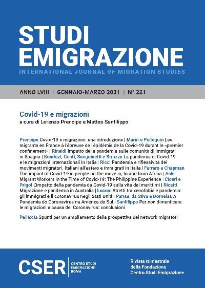 COVID-19 E MIGRAZIONI
