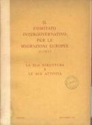 Il Comitato intergovernativo per le migrazioni europee (C.I.M.E) – settembre 1958