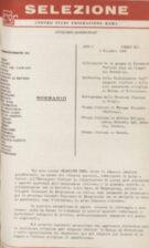 SELEZIONE CSER - ANNO I (1964) n.12