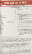 SELEZIONE CSER - ANNO I (1964) n.14