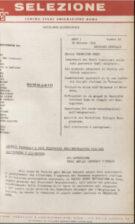 SELEZIONE CSER - ANNO I (1964) n.11