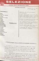 SELEZIONE CSER - ANNO I (1964) n.3 - 4