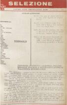 SELEZIONE CSER - ANNO I (1964) n.7 - 8