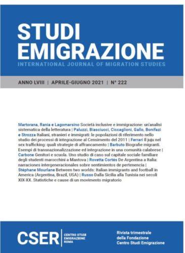 Studi Emigrazione n° 222/2021