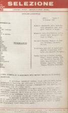 SELEZIONE CSER - ANNO I (1964) n.10