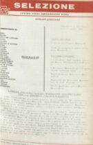 SELEZIONE CSER - ANNO I (1964) n.5 - 6