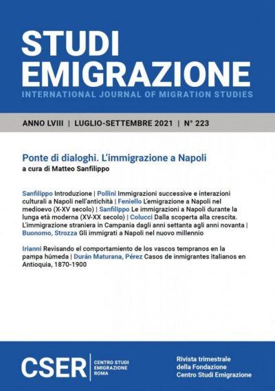 Studi Emigrazione n° 223/2021